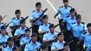 江苏警察机动部队亮相 全是帅哥猛男