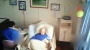 湖南:子女拿錢為父祝壽老人全捐給敬老院