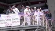 USS GEORGE HW BUSH CVN 77 Flig