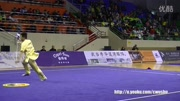 2016年全国武术套路冠军赛 男子棍术 008 孙培原(山东)第五名