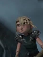 新上映动画片《驯龙高手3》终于迎来大结局,无牙仔也谈起了恋爱