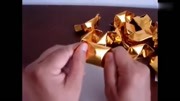 4種元寶的折法,簡單的金元寶手工折紙教程