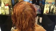 美女要換顏色,發型師給她染了個意料之外頭發