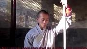 少林武僧讲解少林棍的历史和表演少林棍法,少林棍法名震武林图片