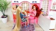 迪士尼公主糾結Play-Doh Rapunzel頭發設計Playset
