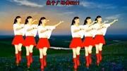 華美舞動廣場舞《紅紅線》簡單歡快32步附教學
