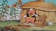 親子啟蒙兒歌,三只小豬蓋新房,大灰狼卻想吃掉它們。