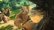 熊出没之原始时代:大熊你是从哪儿来的呀!