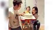 陳冠希秦舒培為2歲女兒Alaia慶生 一家三口同框甜蜜有愛