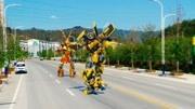 變形金剛:電影變幾中的大黃蜂