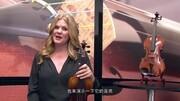 美国赛西里欧Cecilio CVN-XJ-700小提琴演示(中文字幕)