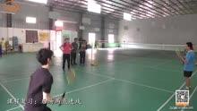 羽毛球教学品德总结小学视频教研组图片