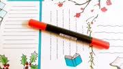 小样卡通画 4分钟学会画15个简单漂亮小边框,萌翻你的手抄报手账本