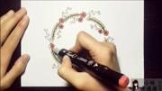儿童手工:手抄报教程 地球边框 儿童手抄报素材 手抄报格式