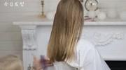 中长发的女生有福了,这样扎丸子头,秒变少女
