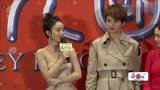 趙麗穎出席電影首映禮表示出演西游記女兒國國王很開心,大開眼界