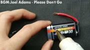 厲害了,9v電池爆改電熱打火機,2分鐘就能學會!