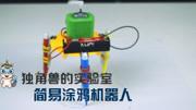 少兒創意繪畫:廚房機器人