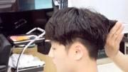 男士短发纹理吹风造?#22270;?#26415;