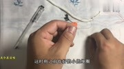 釣魚主線連接竿梢頂端8字結的打法,簡單實用很結實