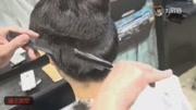 小伙子模仿网红发型,将两边剃光后,看着帅气又个性!