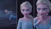 小萝莉化身冰雪公主安娜,寻找美食