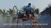 惊人的肥料喷洒机,有了这个之后,村民们就不用再辛苦了