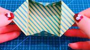折紙:用紙折出來的玩具飛鏢太酷了,男孩子都希望擁有一個吧!