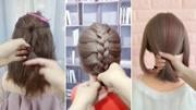 长发发型剪成中发发型 剪完效果出乎意料 2017流行发型齐肩短发