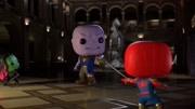 漫威趣味動畫,蜘蛛俠背后嘲笑毒液,卻不知毒液就在他身后!