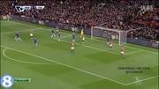 英超-佩德羅30秒閃擊阿扎爾破門 切爾西4-0曼聯