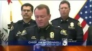 """贝尔郊外""""超速""""驾驶摩托 遭美国警察围堵"""