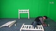 迷你世界:手把手教你建个上下床,教程!