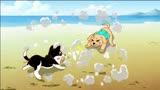 神犬小七2 動漫番06:拉布拉多VS哈士奇 誰才是老大?