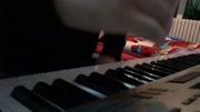 电子琴演奏动画片西游记片尾曲《白龙马》卡西欧6300图片