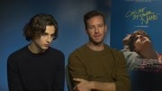 【Call Me by Your Name】Timothée Chalamet & Armie Hammer 专访 - USA Today