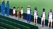 网球王子越前龙马认真起来了,谦也,见识一下左撇子的威力吧!