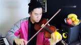 用橘子压弦弹《大黄蜂》 创意演奏小提琴网狂赞!