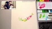 水彩畫出時尚插畫:簡單易懂的小清新上色法,為你打造專屬童話屋