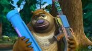 熊出沒之過年 光頭強改行賣冰糖葫蘆,成功迷惑了熊二