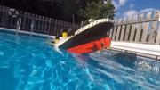 《泰坦尼克号》拍摄花絮,小李子逗比模仿制作人员说话的语气