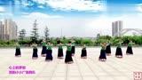 子龙全国明星队资阳小小广场舞队《心上的罗加》12人队形版图片