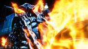 神剪輯 火焰與藍色火焰惡靈騎士