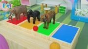 《大耳朵圖圖》小豆班的小朋友們在動物園里看到了熊貓,真可愛呀