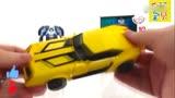 变形金刚玩具 大黄蜂机器人 亲子益智玩具