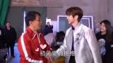 《神探蒲松齡》MV花絮,認真的蔡徐坤,變魔術的成龍,有愛互動