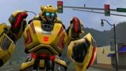 炫酷变形金刚擎天柱大黄蜂变形玩具