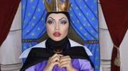 现实生活中的迪斯尼人物,我最喜欢白雪公主!