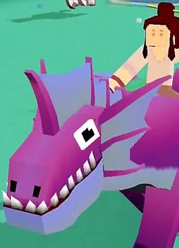 """疯狂动物园:我骑著长城的""""龙蜻蜓""""来到奥林匹斯山,捉到一条龙"""
