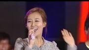最近這位韓國女歌手亮了,伴奏故障后,美女徹底尷尬了